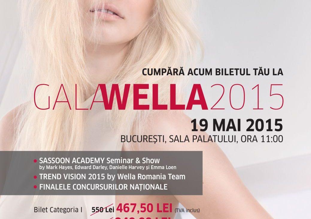 Macheta Gala Wella 2015