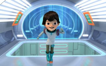 MILES IN SPATIU - incepe la DISNEY JUNIOR
