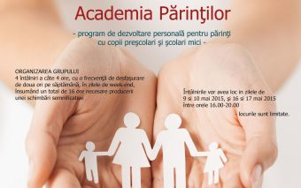 Te invitam la Academia Parintilor