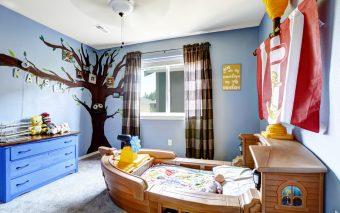 4 idei deco pentru camera copilului