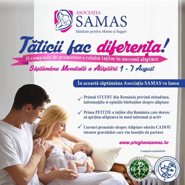 Campanie SAMAS_Saptamana_alaptarii