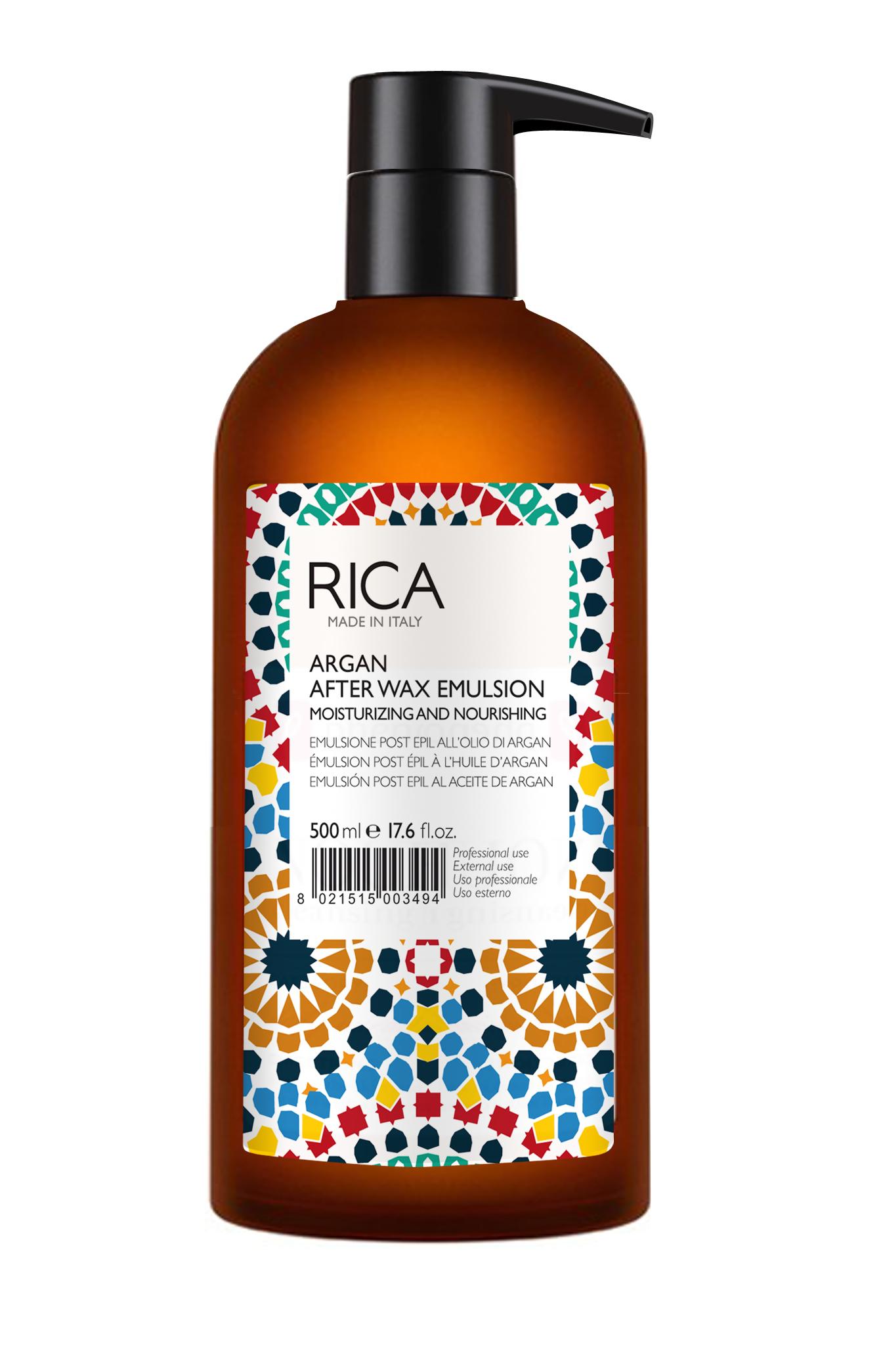 RICA - ARGAN OIL AFTER WAX EMULSION 500ml