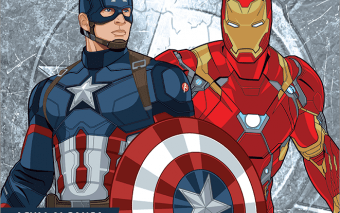 Cand te vezi cu Iron Man si Captain America?