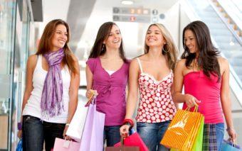 Escapada cu fetele la shopping