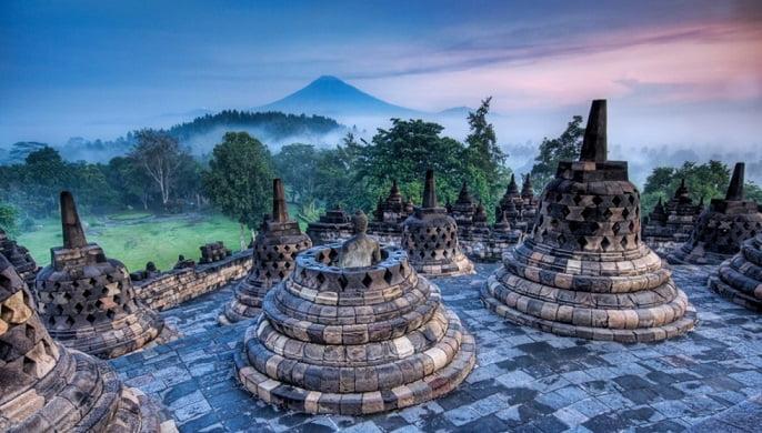 Borobudur.Indonezia