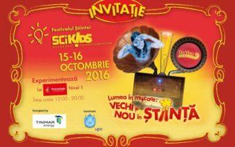 Cea de-a patra editie SCIKiDS Festivalul Stiintei  vine la Mall Promenada in octombrie