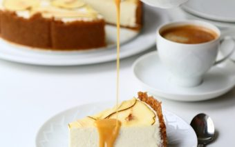 Cheesecake de toamna: pere si ghimbir