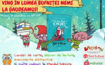 Bufnita Nemi va asteapta la Targul de Carte Gaudeamus