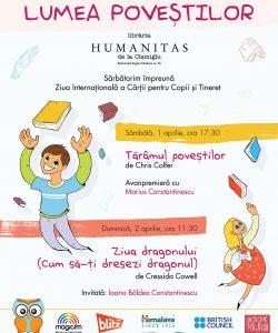 Vino in lumea povestilor Nemi de Ziua Internationala a Cartii pentru Copii si Tineret