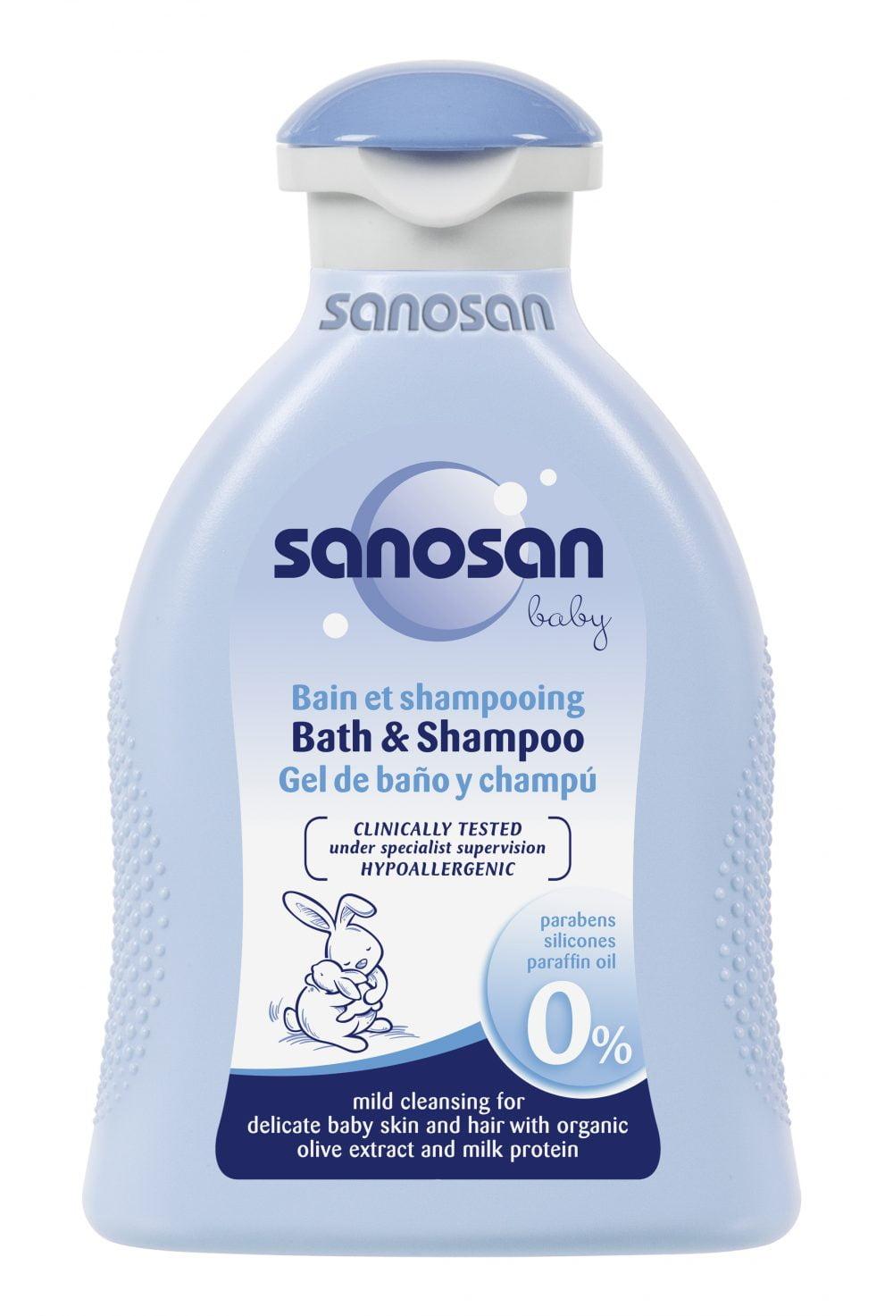 Ingrijire delicata pentru pielea bebelusului cu Sanosan Baby