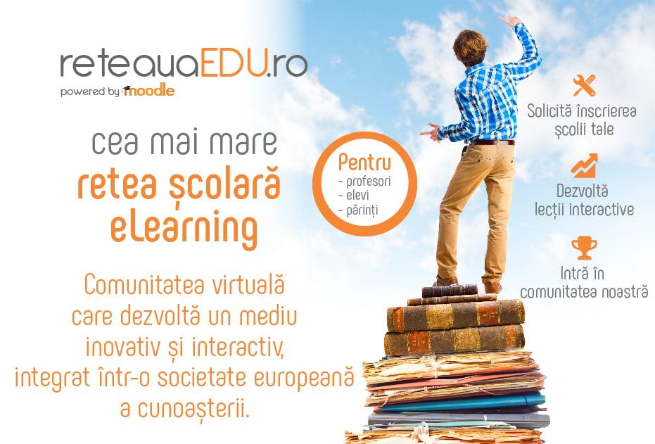 Relansarea reteauaEDU.ro, cea mai mare rețea școlara eLearning