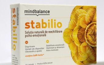 S-a lansat cel mai avansat produs nutraceutic destinat reechilibrării psiho-emoționale: MINDBALANCE STABILIO
