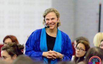 Laura Markham sustine pe 13 mai o serie de conferinte, la București