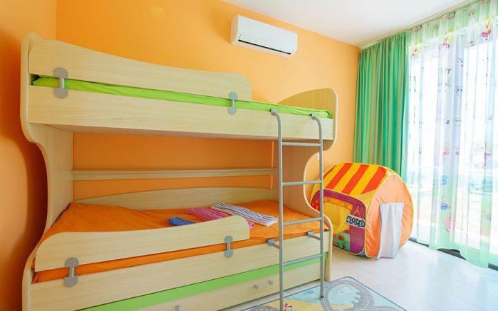 Dormitorul pentru doi sau mai multi copii