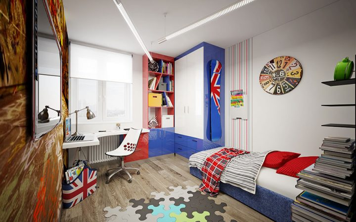Dormitorul pentru bebelusi