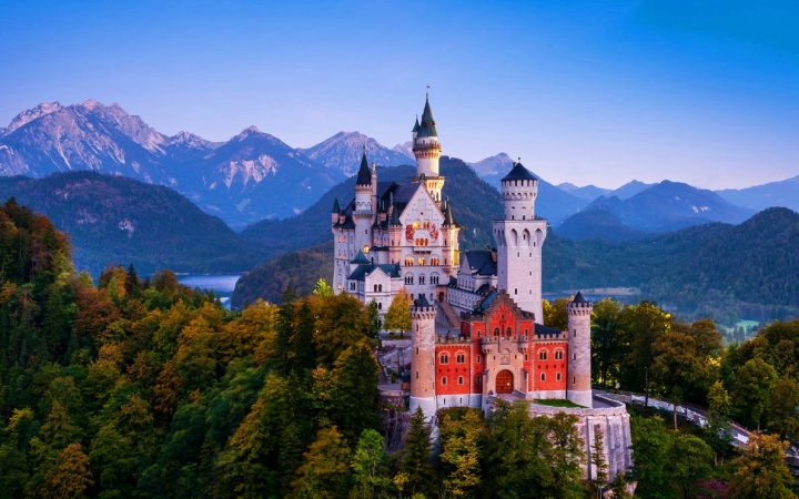 Neuschwanstein, Castelul Frumoasei din Padurea Adormita