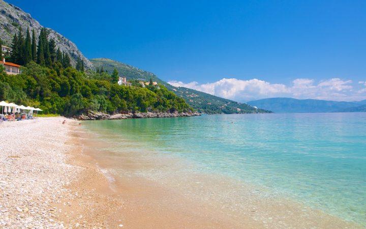 Barbati Beach, Corfu