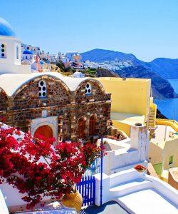Santorini – insula paradisului