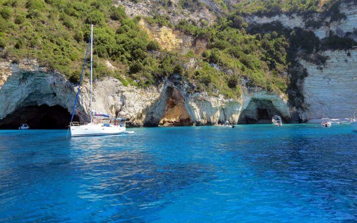 Insulele Paxos si Antipaxos, Grecia