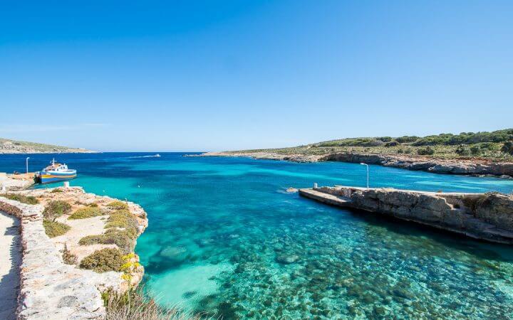 Insula Comino, Malta