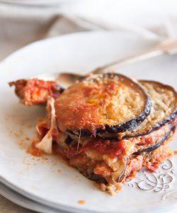 Vinete a l'italiana - cu sos de rosii si parmezan