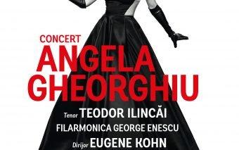 Concert extraordinar susținut de  soprana Angela Gheorghiu  cu ocazia Zilelor Bucureștiului