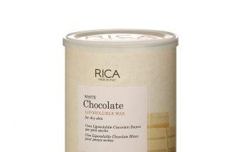 Epilare cu ciocolata alba pentru pielea sensibil