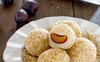 Desertul copilariei: găluşte cu prune