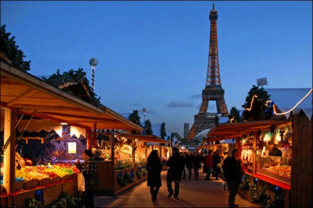 Paris – feerie de iarna