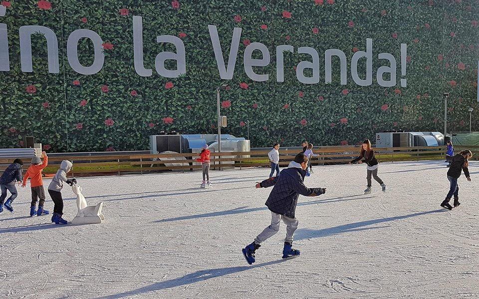 Veranda Mall redeschide singurul patinoar în aer liber din zona Obor