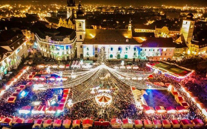 Piata de Craciun din Sibiu
