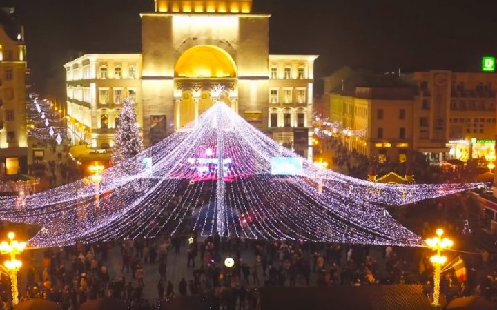 Piata de Craciun din Timisoara