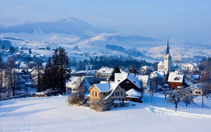 Appenzell, pentru un Craciun alb