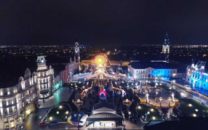 Piata de Craciun din Oradea
