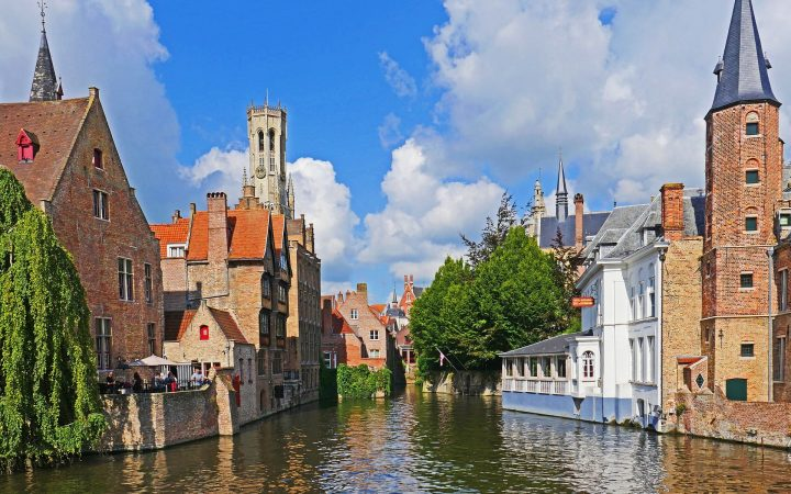 Bruges – cu barca pe reien