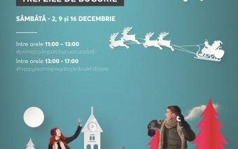 Din 2 Decembrie, Centrele Comerciale Auchan din București dau startul la colind și fapte bune!