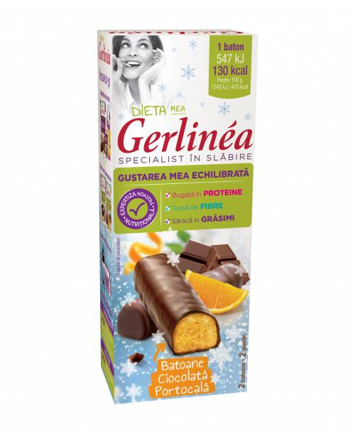 Batonul Gerlinéa Portocalã Ciocolatã, acum şi în format mini!