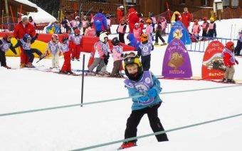 sporturile de iarna pentru copii