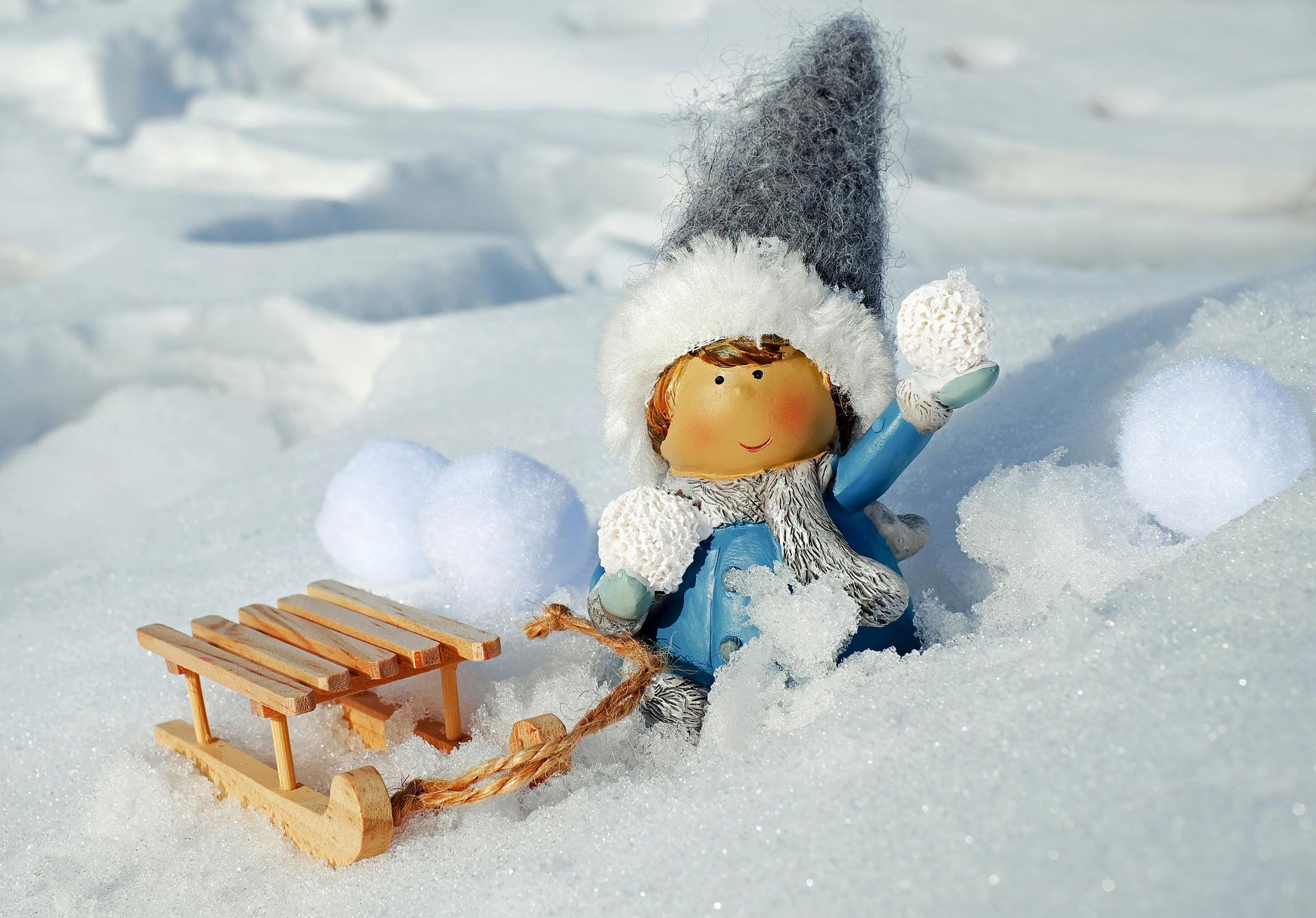 îngrijirea copiilor iarna