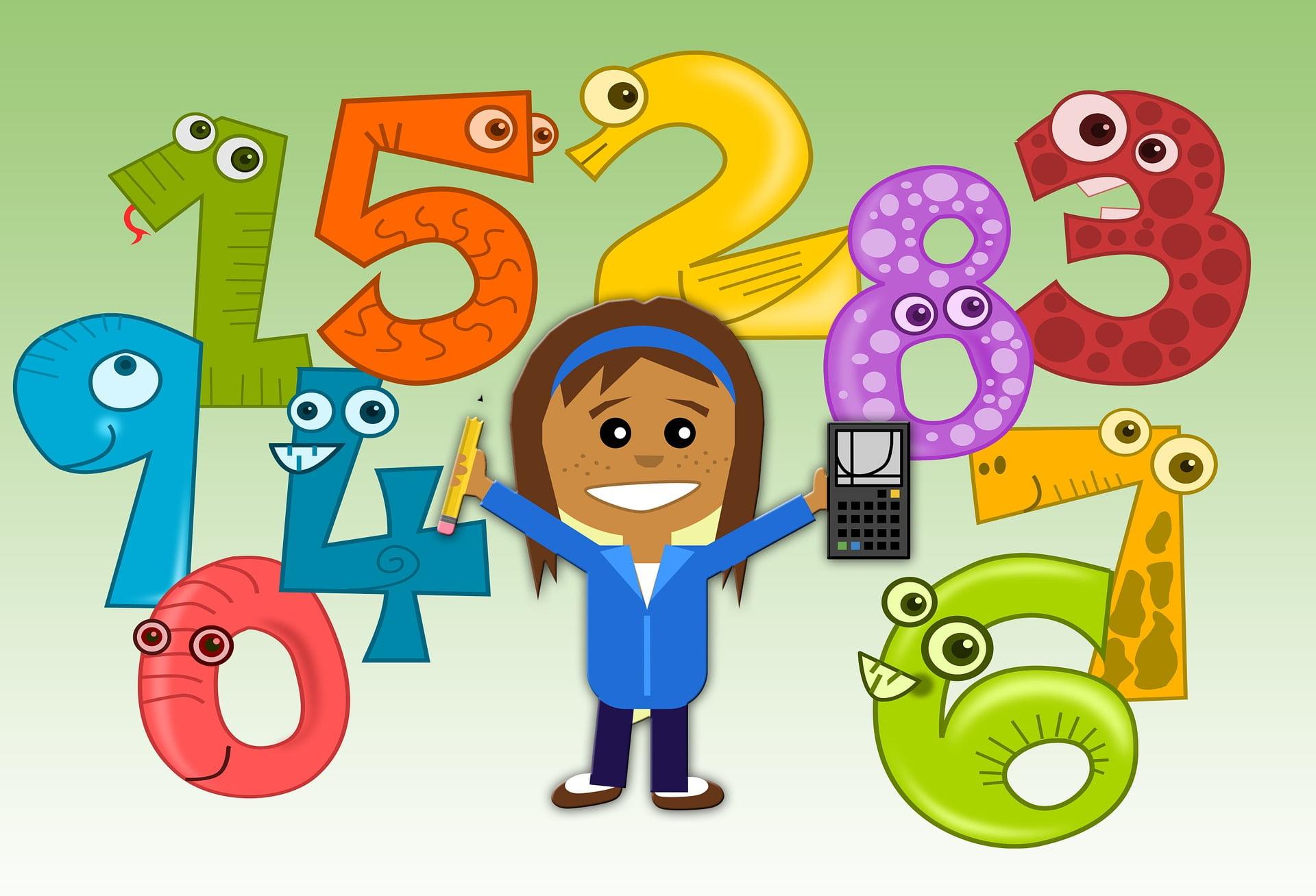 Matematică între 3 și 4 ani