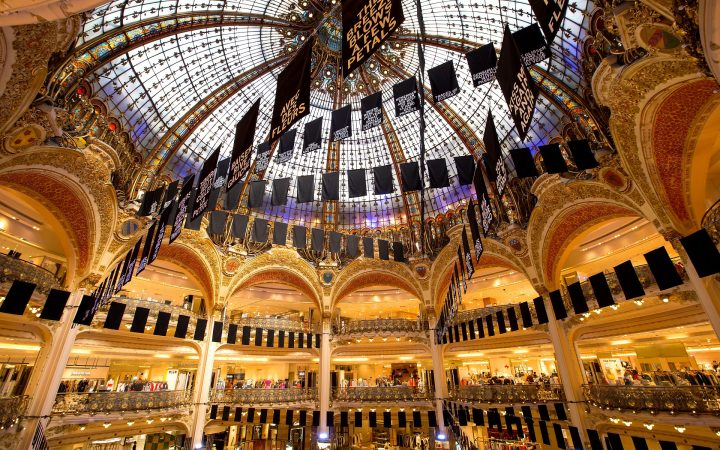 Locatii de shopping in Paris