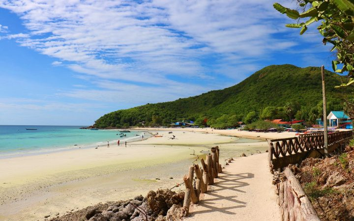 Pattaya, oaza tropicala a Thailandei