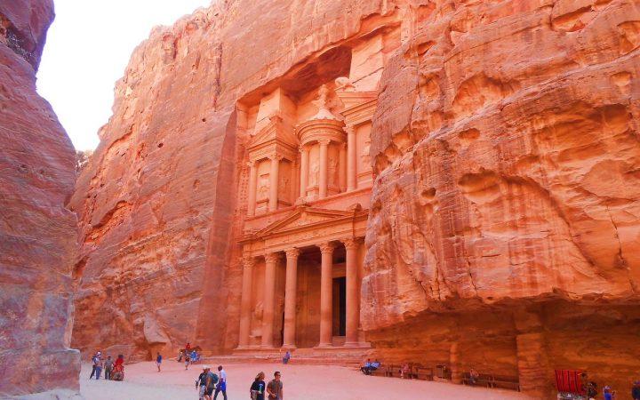 Petra, orasul roz din Iordania