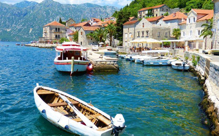 Vacante tihnite de primavara in Ulcinj, Muntenegru