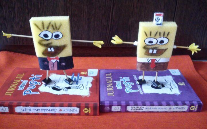 Cum îl facem pe Sponge Bob