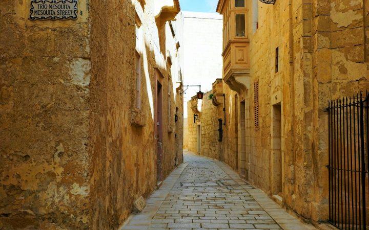 Cu caleașca în Mdina