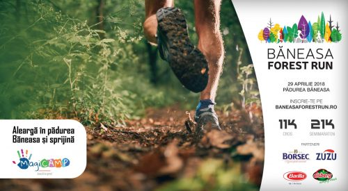 Aleargă și donează cu Băneasa Forest Run și MagiCAMP!