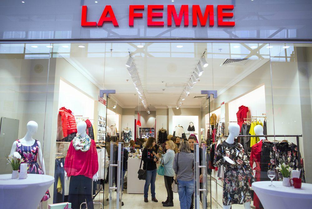 După 20 de ani pe piată, La Femme România inaugurează al zecelea magazin