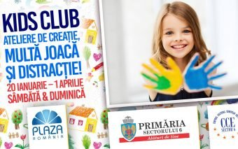 A doua sesiune de primăvară Kids Club la Plaza România