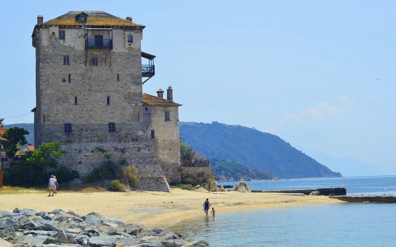 Armenistis – locul cu vederi spre Muntele Athos